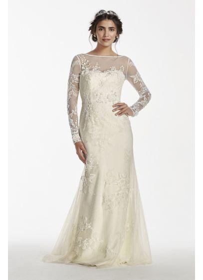Long Sheath Wedding Dress - Melissa Sweet