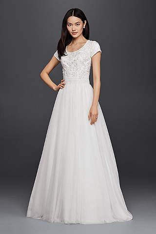 Vestidos de novia Línea A | David\'s Bridal - David\'s Bridal