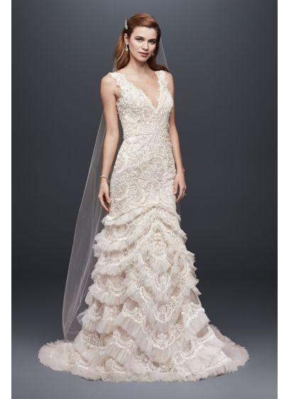 Long Mermaid/ Trumpet Sexy Wedding Dress - Galina Signature