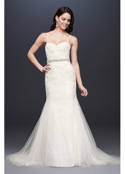 Extra Length Trumpet Gown with Corset Bodice 4XLSWG690