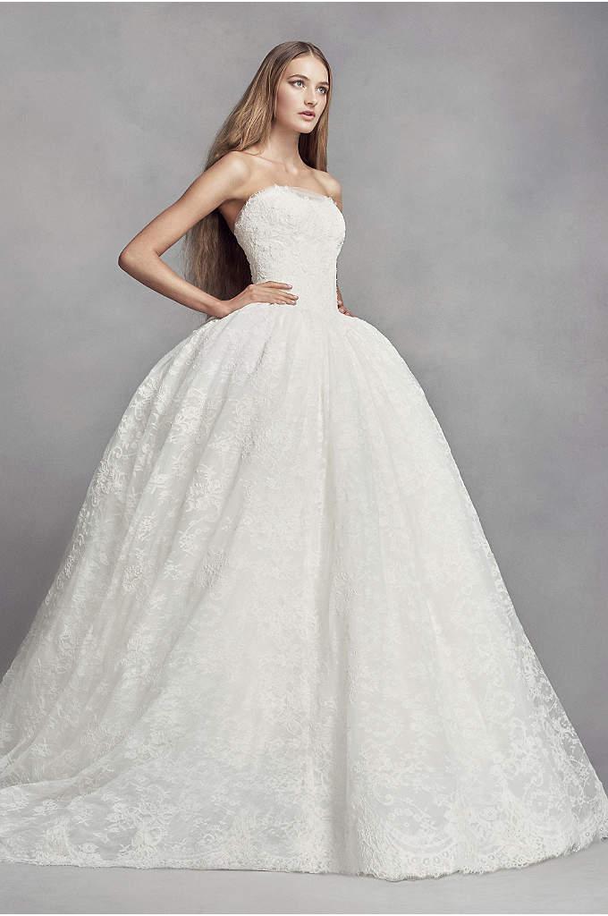 White by Vera Wang Hand Beaded Wedding Dress