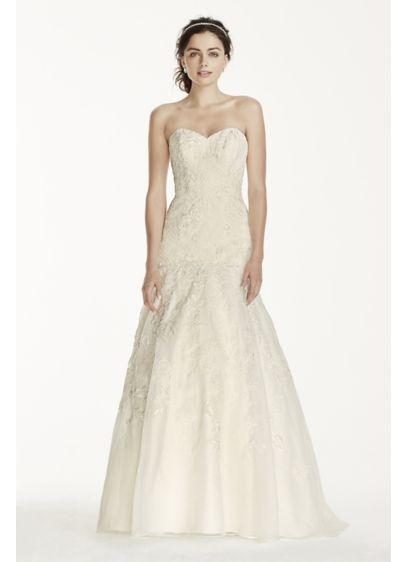 Long 0 Wedding Dress - Jewel