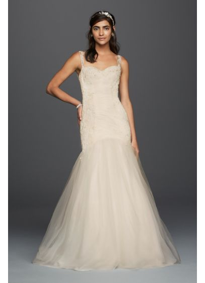 Long 0 Wedding Dress - David's Bridal Collection