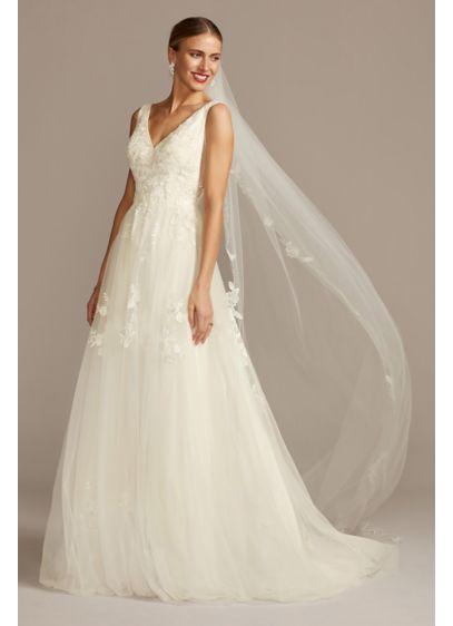Long Ballgown Romantic Wedding Dress - David's Bridal Collection
