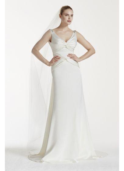 Long Sheath Wedding Dress - Truly Zac Posen