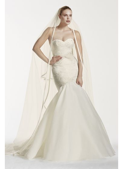 Long Mermaid/ Trumpet Wedding Dress - Truly Zac Posen