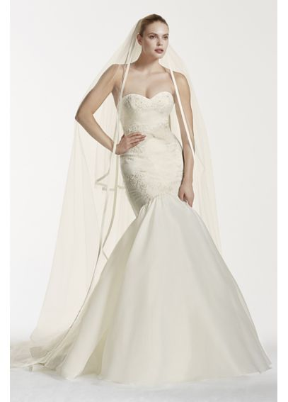 Truly Zac Posen Lace and Organza Wedding Dress 4XLZP341560