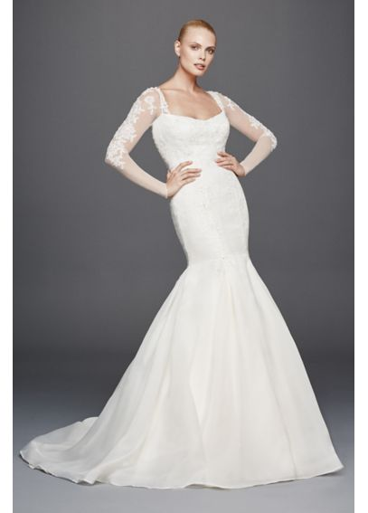 Truly Zac Posen Mermaid Extra Length Wedding Dress 4XLZP341640