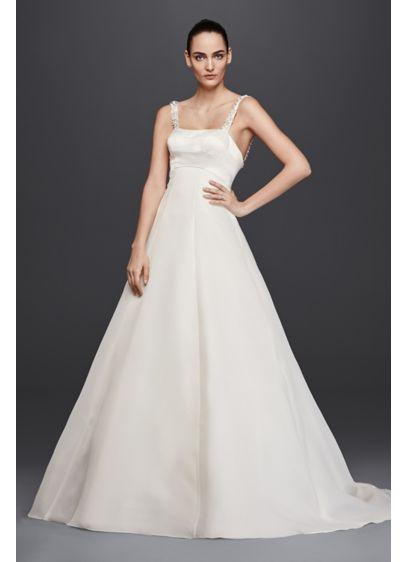 Long A-Line Simple Wedding Dress - Truly Zac Posen
