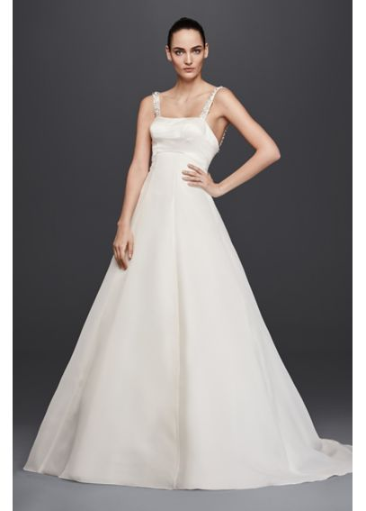 Truly Zac Posen A-Line Wedding Dress with Beading 4XLZP341683