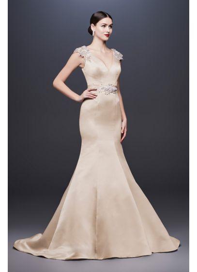 Long Mermaid/ Trumpet Simple Wedding Dress -