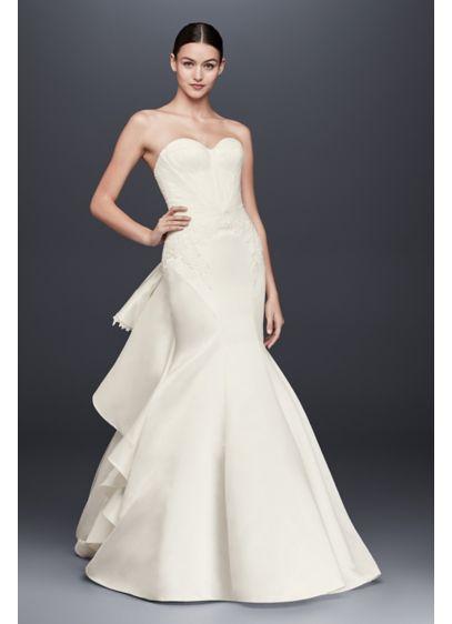 Long Mermaid/ Trumpet Wedding Dress - Truly Zac Posen