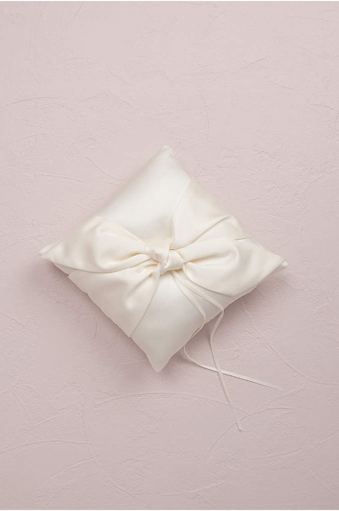 Tie The Knot Ring Bearer Pillow - The Tie The Knot Ring Bearer Pillow features