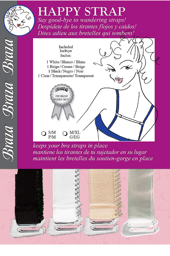 Braza Happy Strap Adjustable Bra Converter - Keep your bra straps where you want them