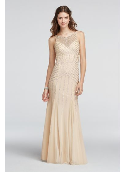 Long Sheath Halter Formal Dresses Dress - Sean Collections