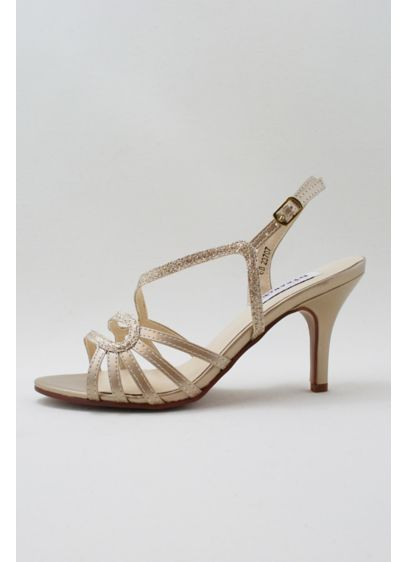 Dyeables Grey (Curved-Strap Slingback Heels)
