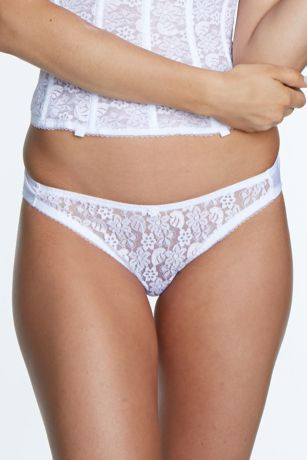 Dominique Lace Bikini - Dominique traditional cut bikini made with smooth, sculptured