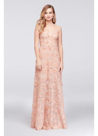 Long A-Line Spaghetti Strap Formal Dresses Dress - Xscape