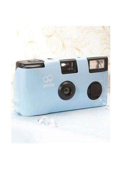 White Single Use Disposable Wedding Camera