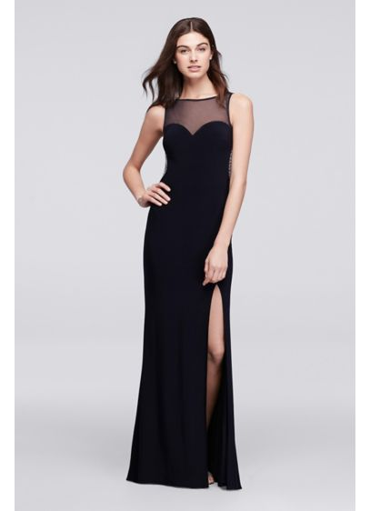 Long A-Line Tank Prom Dress - Blondie Nites