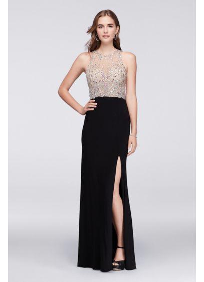 Long Sheath Tank Prom Dress - Blondie Nites