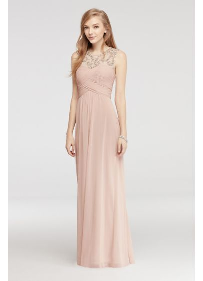 Long A-Line Tank Prom Dress - Blondie Nites