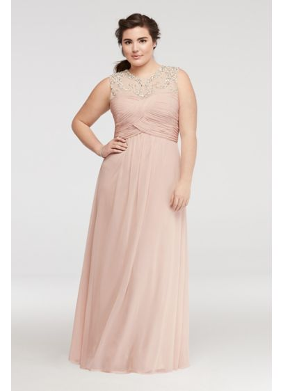 Long A-Line Tank Formal Dresses Dress - Blondie Nites