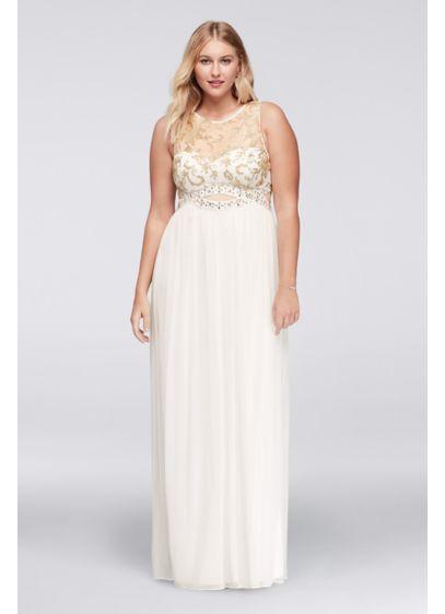 Long A-Line Tank Prom Dress -