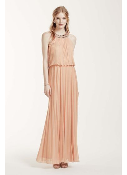Long Sheath Halter Mother and Special Guest Dress - Cachet