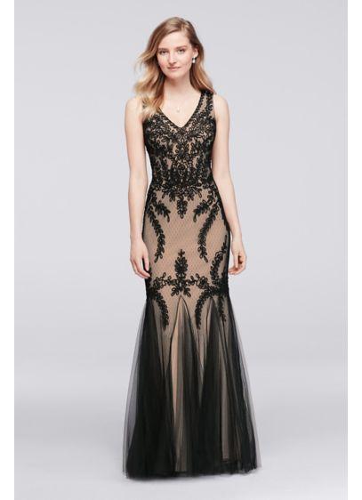 Long Mermaid/ Trumpet Tank Formal Dresses Dress -