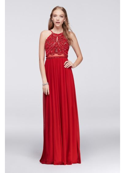Long A-Line Wedding Dress - Blondie Nites