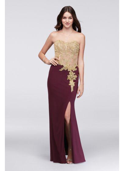Long Mermaid/ Trumpet Wedding Dress - Blondie Nites