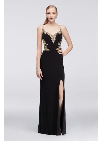 Long Sheath Spaghetti Strap Formal Dresses Dress - Cachet