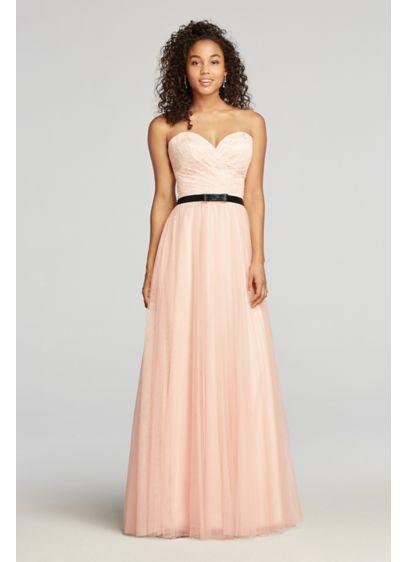 Long Ballgown Strapless Quinceanera Dress - Cachet