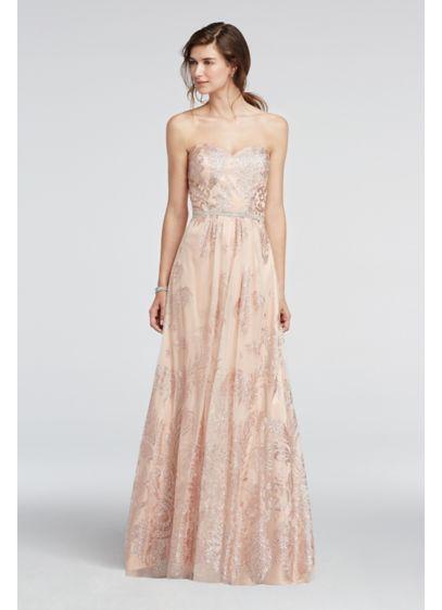 Long Ballgown Strapless Formal Dresses Dress - Cachet