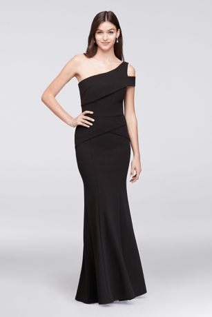 One Shoulder Trumpet Dress