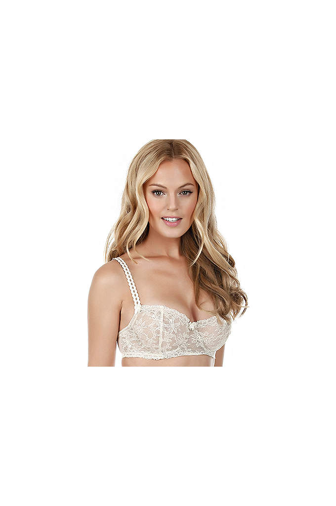 Felina Harlow Demi Unlined Bra - The Harlow Demi Classic Demi Bra comes Unlined