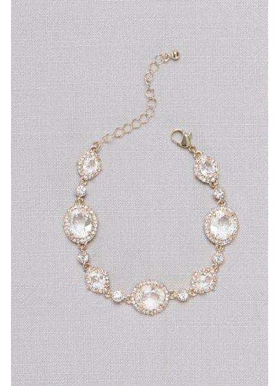 Faceted Bold Gem Bracelet - Wedding Accessories