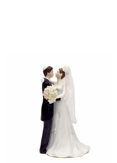 Traditional Jewish Bride and Groom Cake Topper 6084