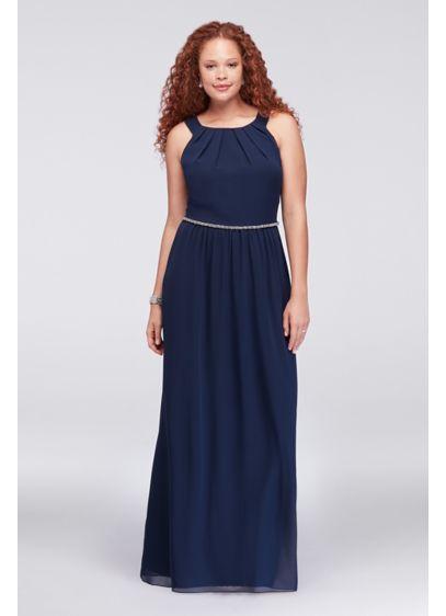 Long A-Line Halter Formal Dresses Dress - Ignite