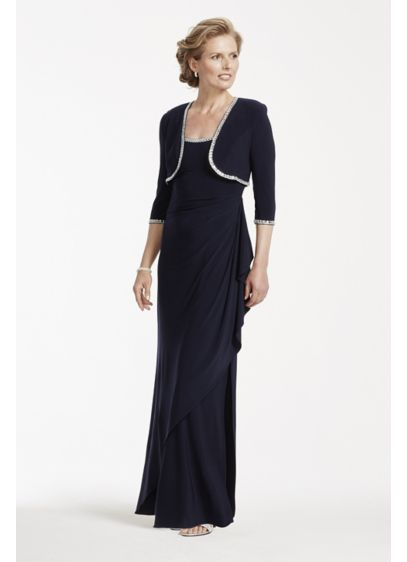 Long Sheath Jacket Mother and Special Guest Dress - Alex Evenings