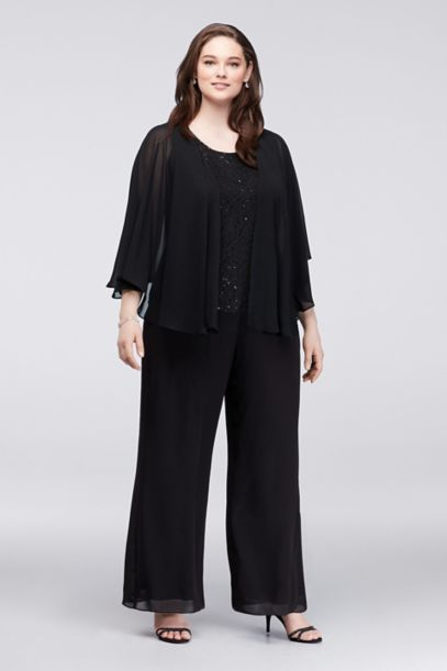 R&M Richards Long Formal Pants Suit Plus Size Dress. Sold by The Dress Outlet Inc. $ R&M Richards Mother of Bride Pant Suit Plus Size Formal. Sold by The Dress Outlet Inc. $ $ Le Suit Plus Womens 3PC Long Sleeves Pant Suit. Sold by BHFO. $ $