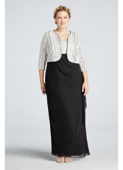 Long Sheath Jacket Formal Dresses Dress - Alex Evenings