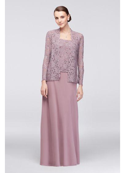 Long A-Line Jacket Formal Dresses Dress -