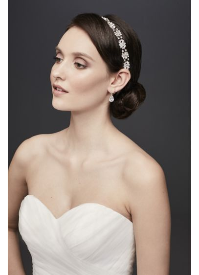 Faceted Cluster Headwrap - Wedding Accessories