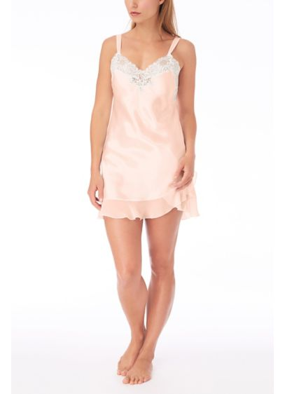 Oscar De La Renta Lace and Ruffle Chemise - Wedding Accessories
