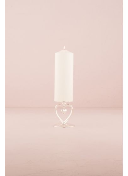 Suspended Heart Unity Candle Holder - Wedding Gifts & Decorations