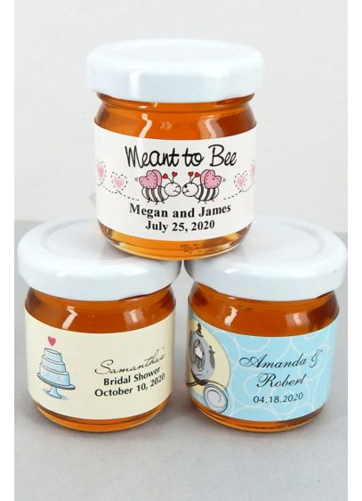 Personalized Classic Wedding Designs Honey Favors - Wedding Gifts & Decorations