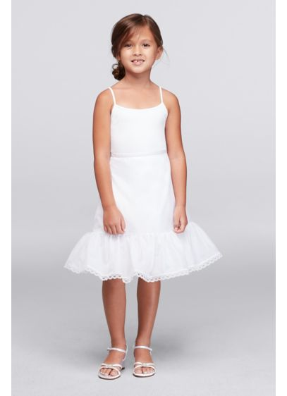 Flower Girl Tea Length Slip - Wedding Accessories