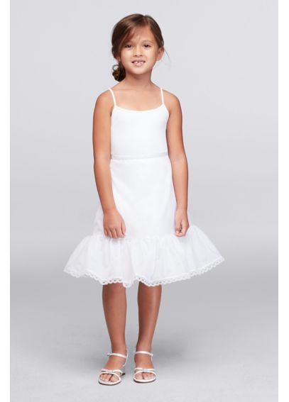 Flower Girl Tea Length Slip 710